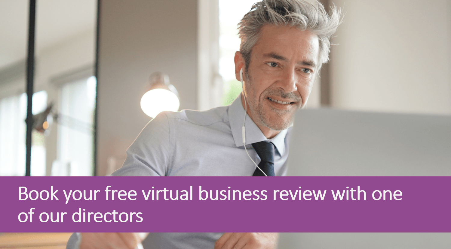 Book virtual business review
